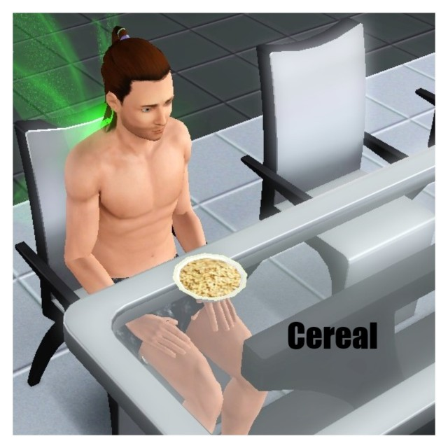receita cereal the sims 3 - 2