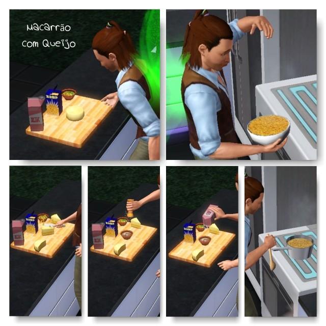 receita Macarrão com Queijo The Sims 3 - 2