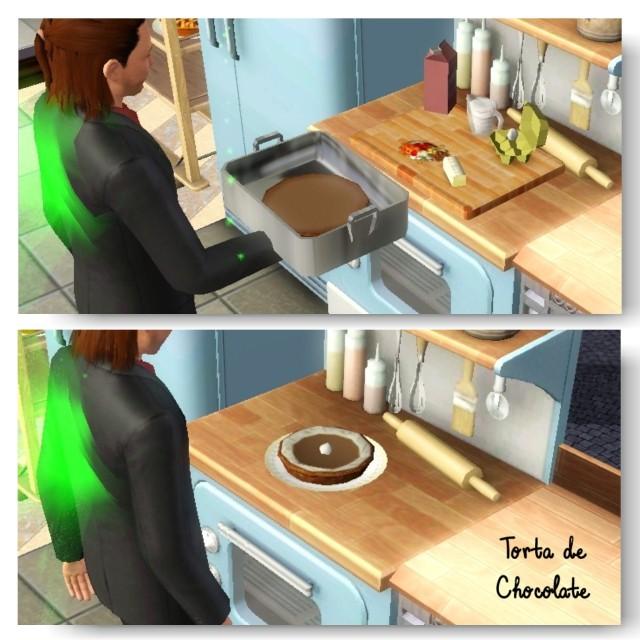 receita torta de chocolate the sims 3 - 2