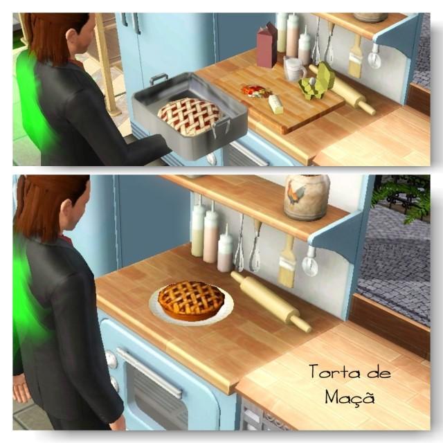 receita Torta de Maçã The Sims 3 - 2