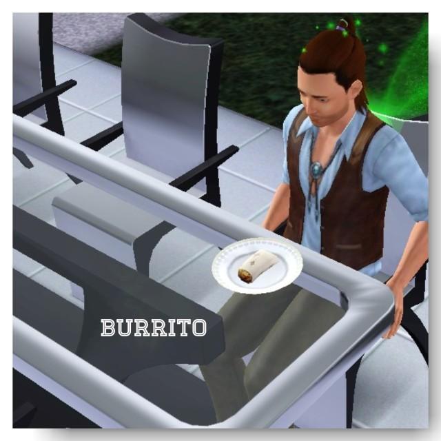 receita Burritos the sims 3 - 2
