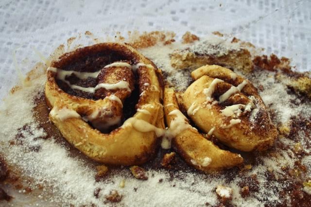 receita Rosca de Canela (Cinnamon Roll) the sims 3 - 1