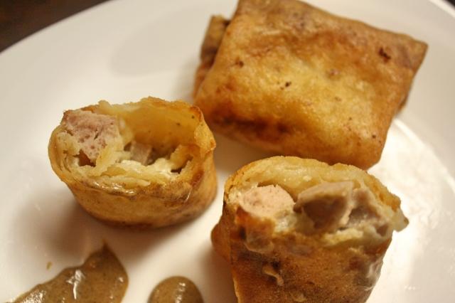 receita Rolinho Primavera de Salsicha Branca Alemã com Cream Cheese e Queijo the sims 3 - 2