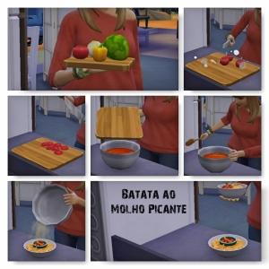 Batata ao Molho Picante the sims 4