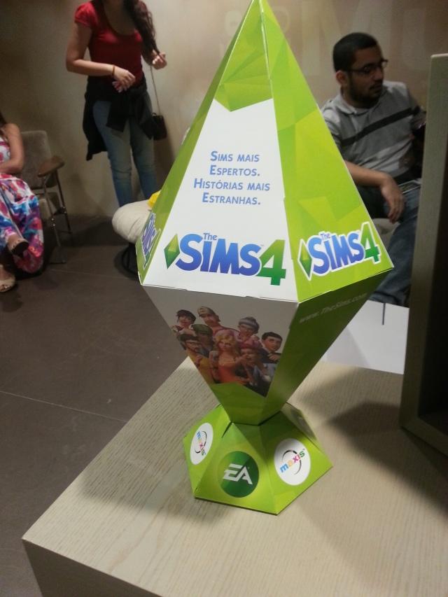 evento de lançamento the sims 4 - 2