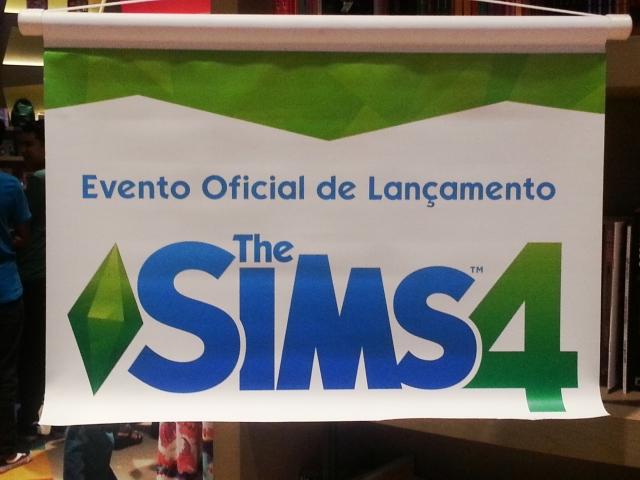 evento de lançamento the sims 4 - 1