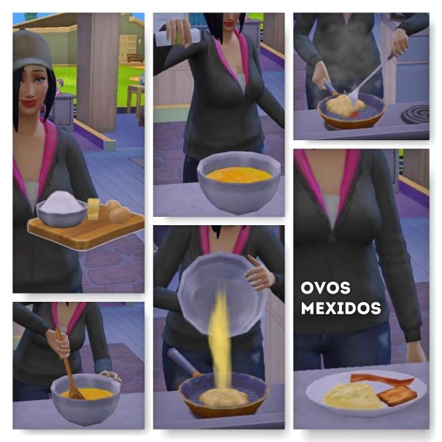 1- Ovos Mexidos the sims