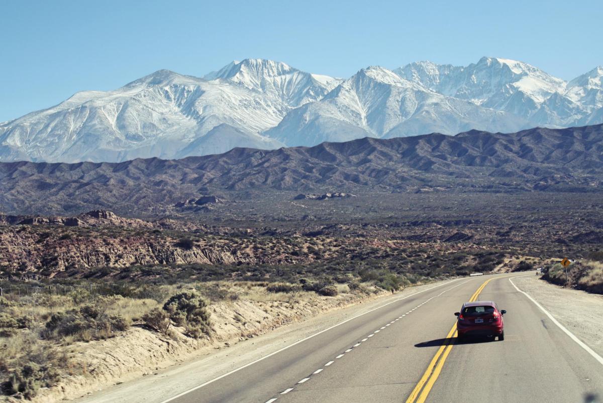 A travessia pelos Andes de Santiago a Mendoza
