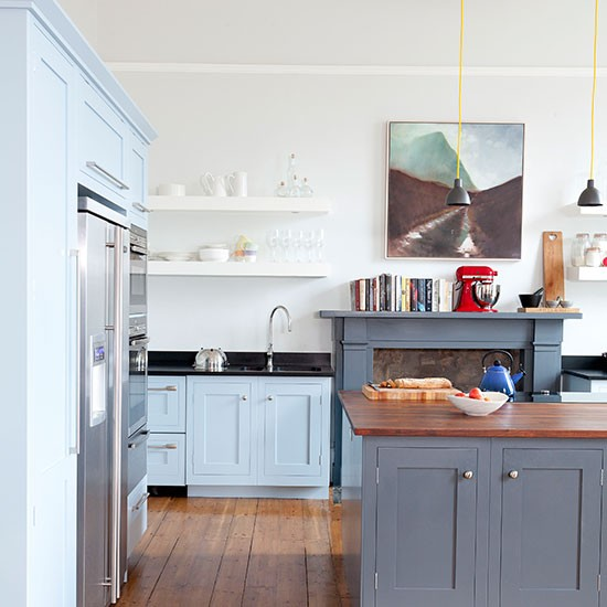 Slate-Grey-and-Pale-Bue-Kitchen-Ideal-Home-Housetohome
