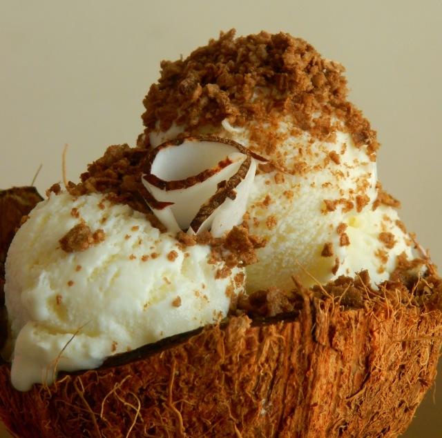 pitadinha - coco com farofa