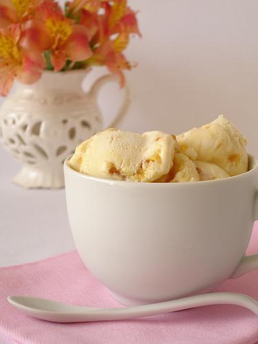 technicolor kitchen - sorvete de creme bulee