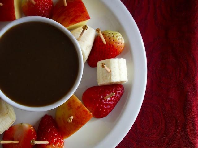 pitadinha fondue de frutas